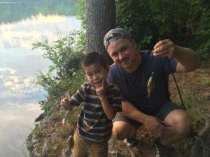 catching minnows