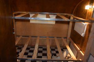 bottom bunk framed