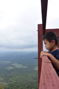 fort mountain lookout boy