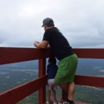 fort mountain lookout father son