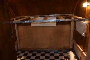 top bunk framed