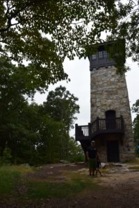 tower at fort mountain