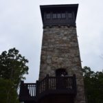 tower at fort mountain couple