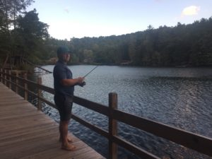 tallulah gorge barefoot fishing