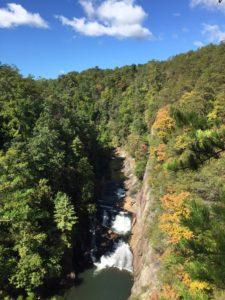 tallulah gorge falls