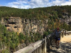 tallulah gorge rim overlook