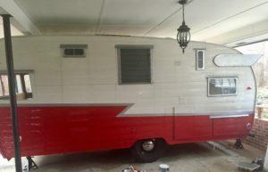 retro shasta airflyte carport