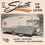vintage shasta 1900 deluxe trailer