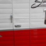 red retro shasta airflyte restoration 75