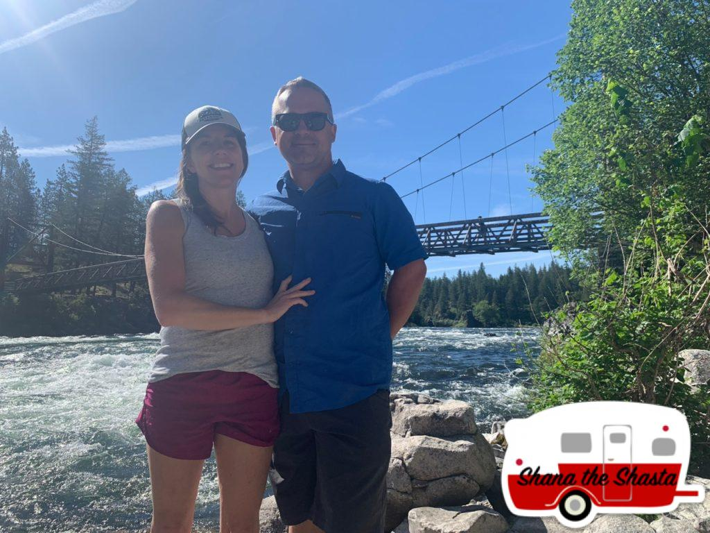 Beneath-Swinging-Bridge-Spokane-River