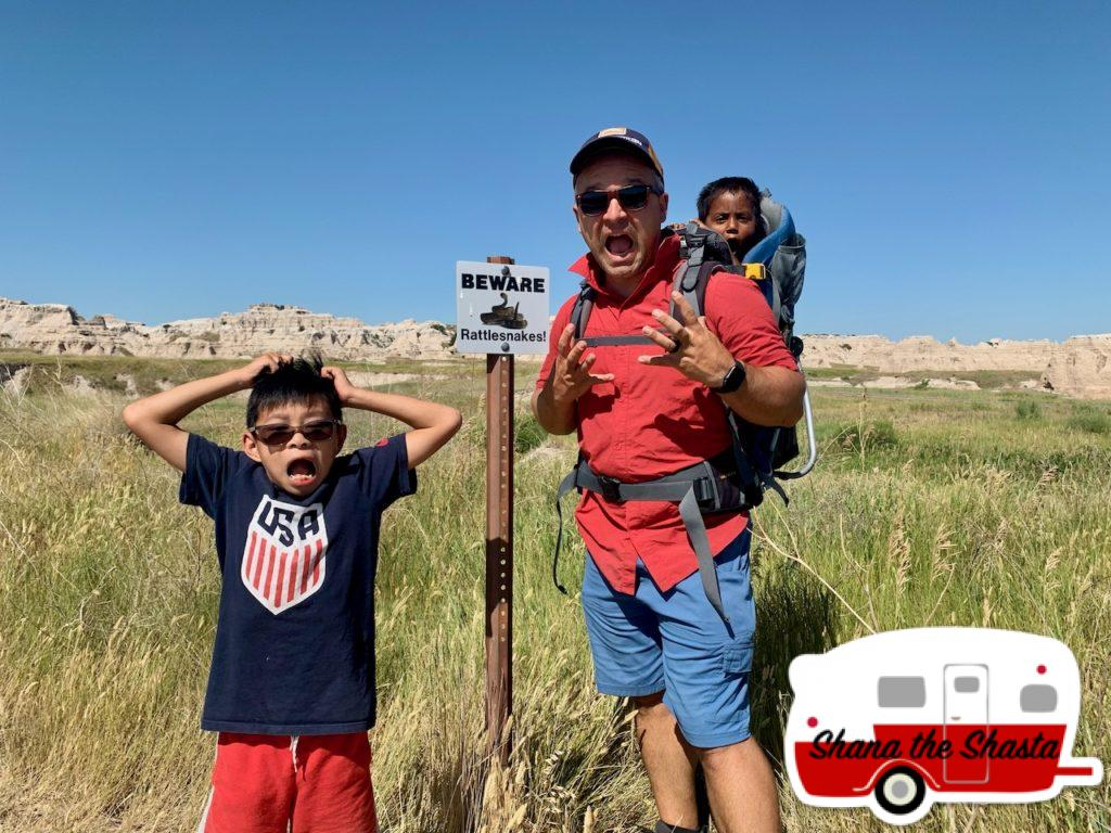Beware-of-Rattlesnakes-in-the-Badlands