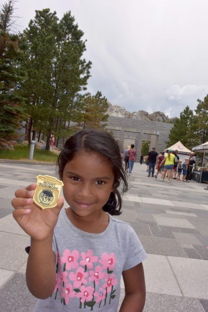 Earned-Junior-Ranger-at-Mount-Rushmore