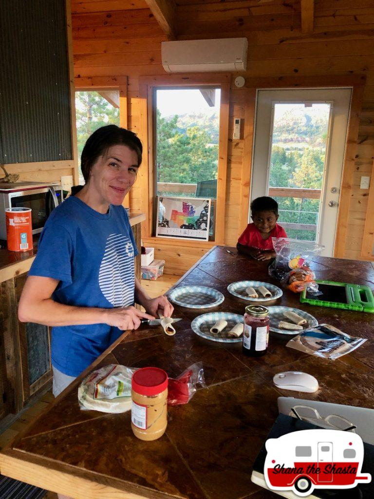 Fire-Tower-Lunch-Prep