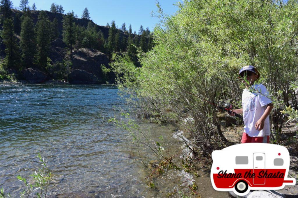 Fishing-Spokane-River