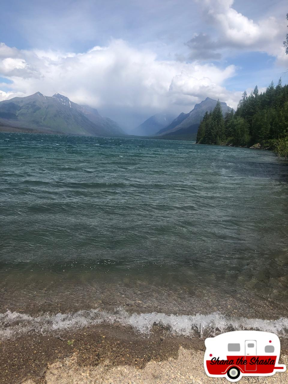 Glacier-Lake-McDonald-Storm