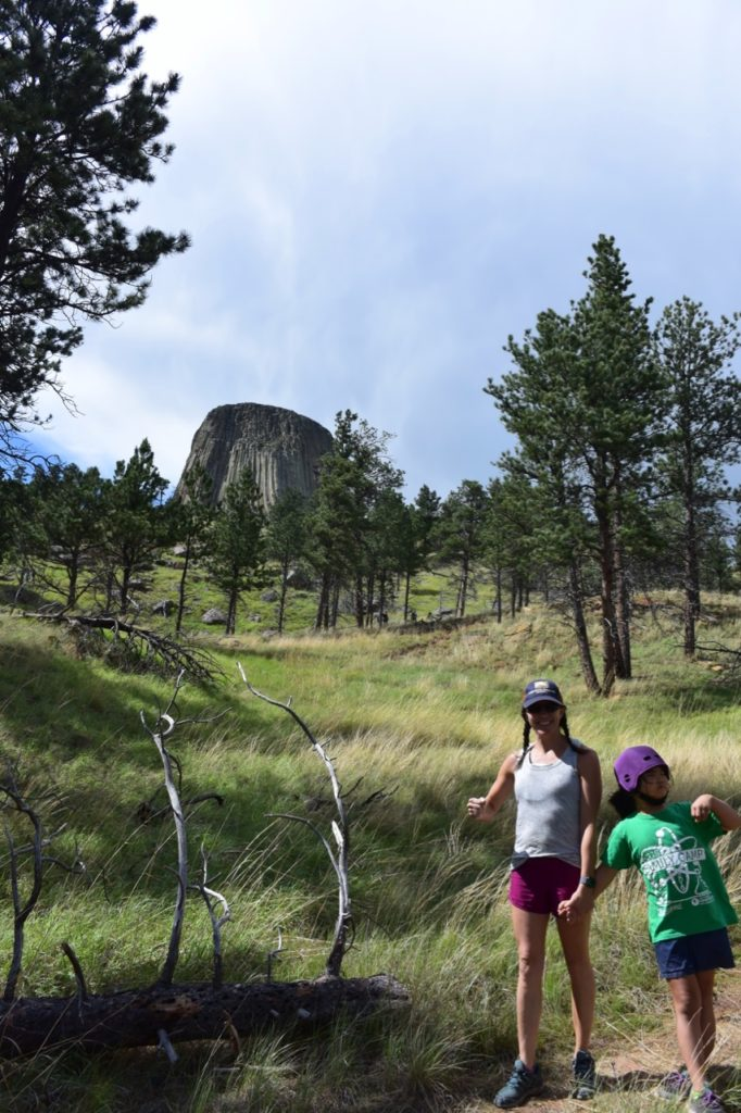 Hiking-Down-Devils-Tower