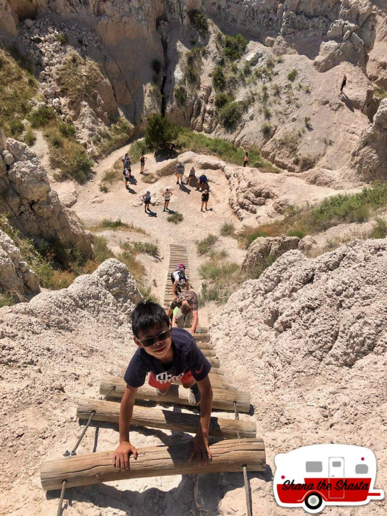Ladder-Climb-in-the-Badlands