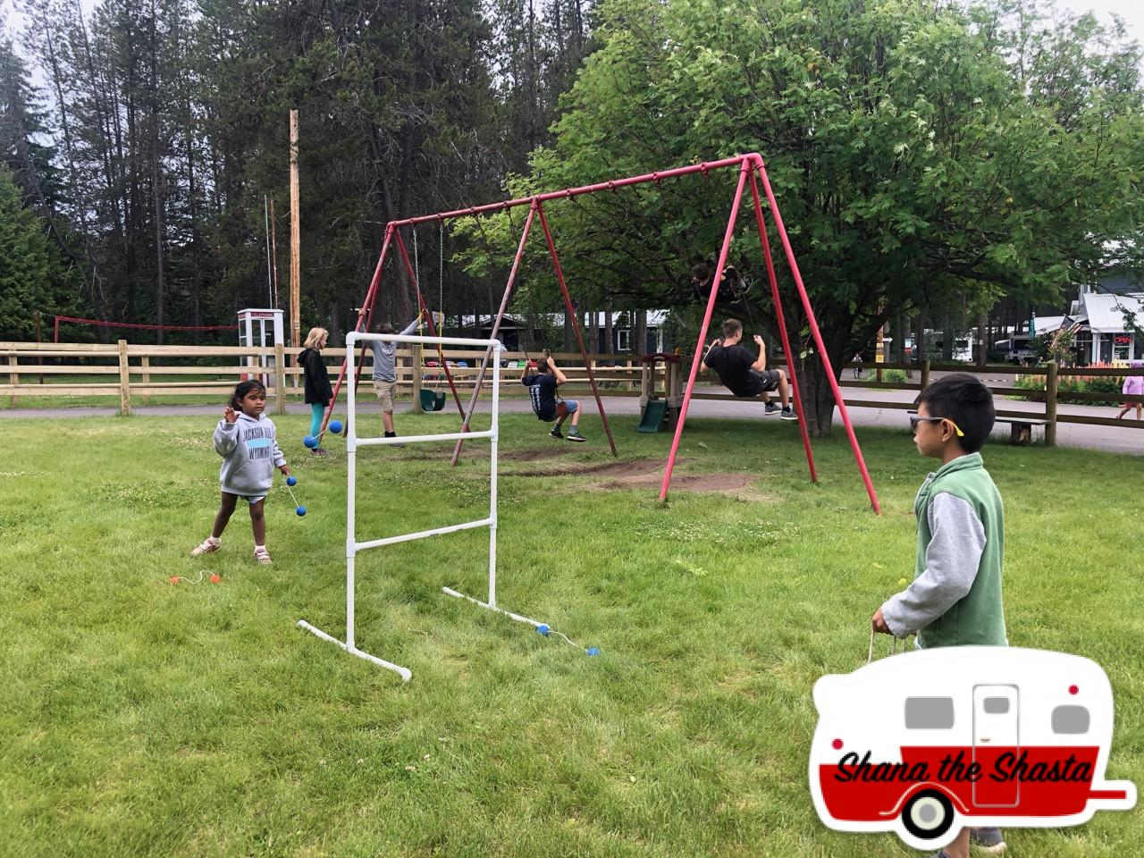 Ladderball-at-Moose-Creek-Campground-near-Glacier