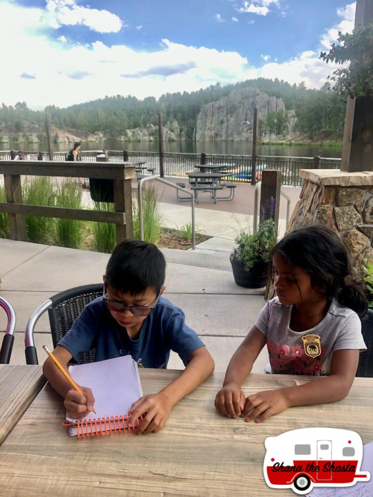 Making-Mazes-at-Legion-Lake-in-Custer