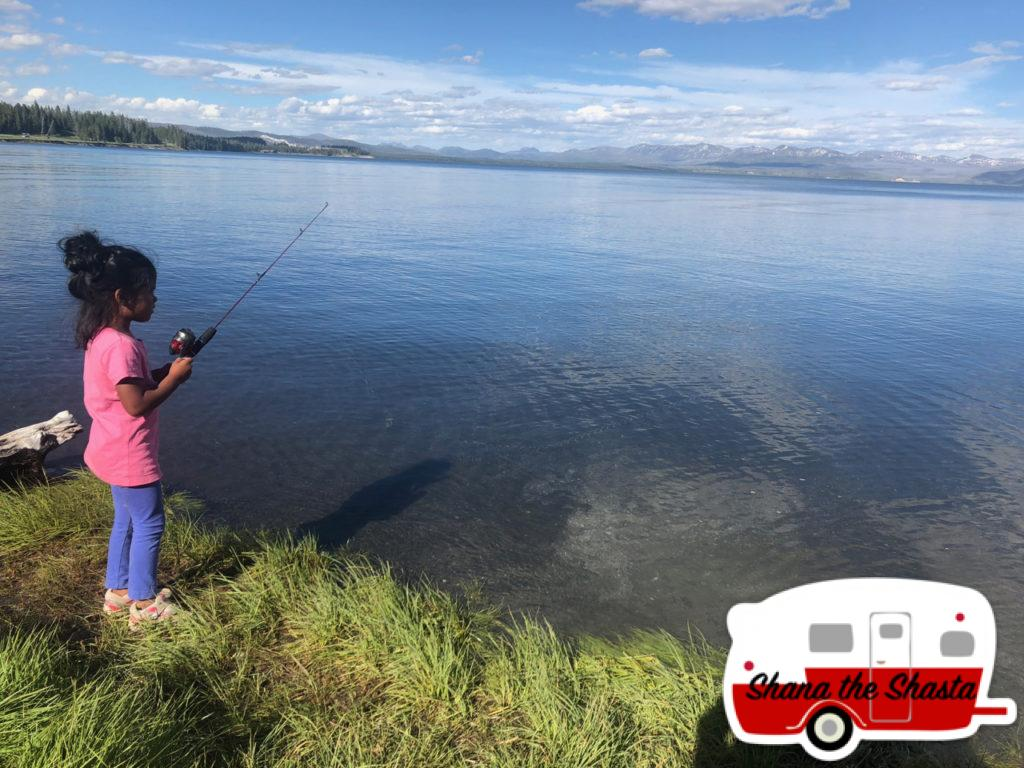 Shore-Fishing-Yellowstone-Lake
