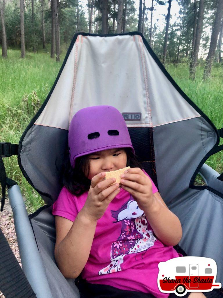 Smores-at-Blue-Bell-Campground