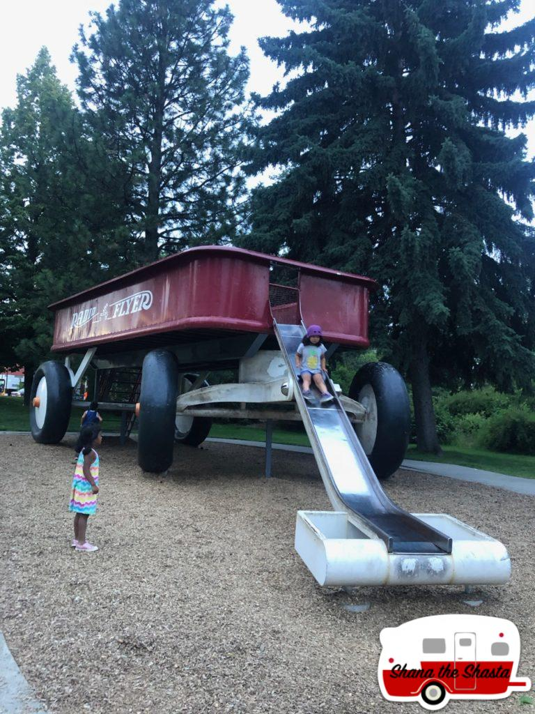 Spokane-Giant-Radio-Flyer-Wagon-Slide