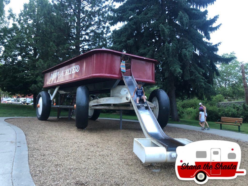 Spokane-Huge-Radio-Flyer-Wagon-Slide