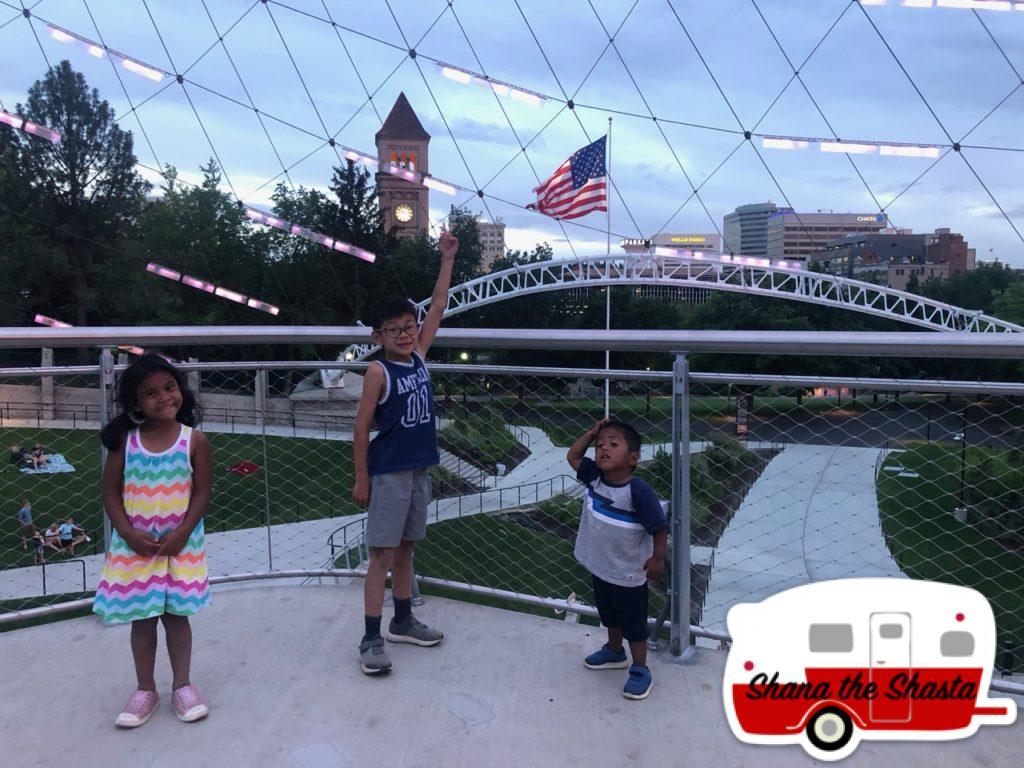 Spokane-Tower-Flag-and-Light-Dome