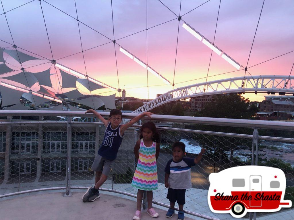 Sunset-in-Downtown-Spokane
