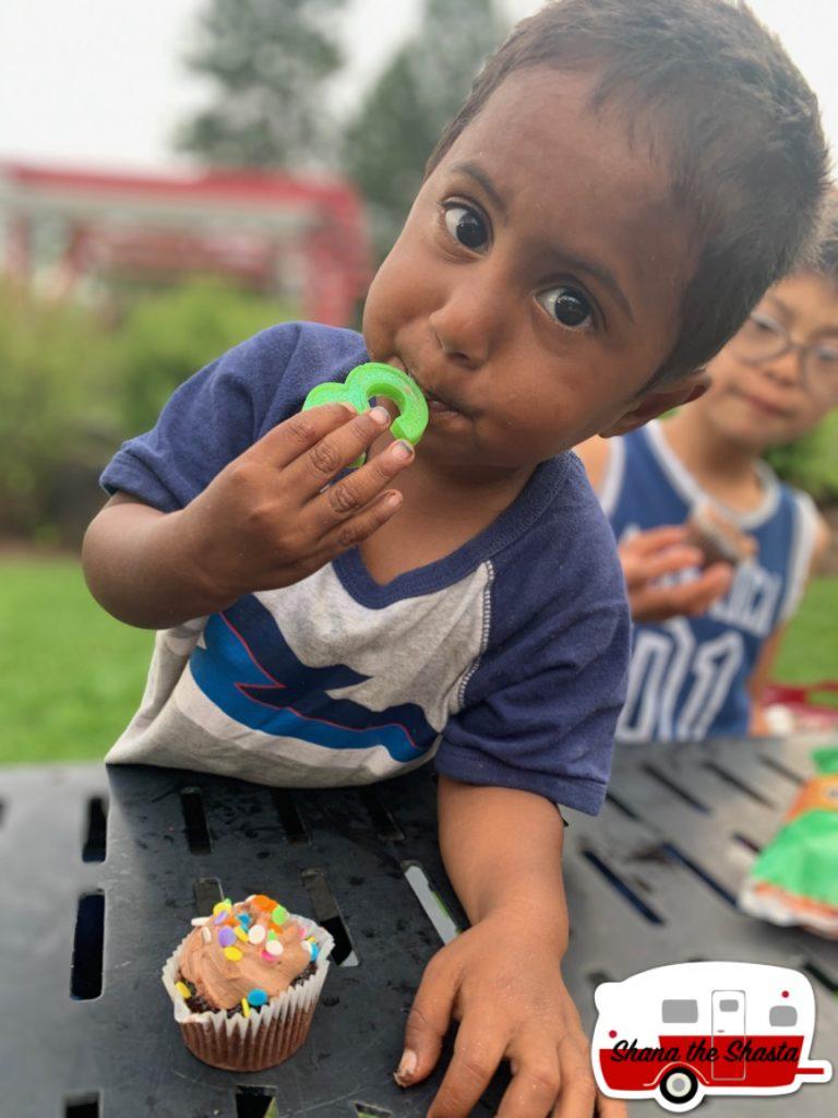 Three-Year-Old-Birthday-Cupcake