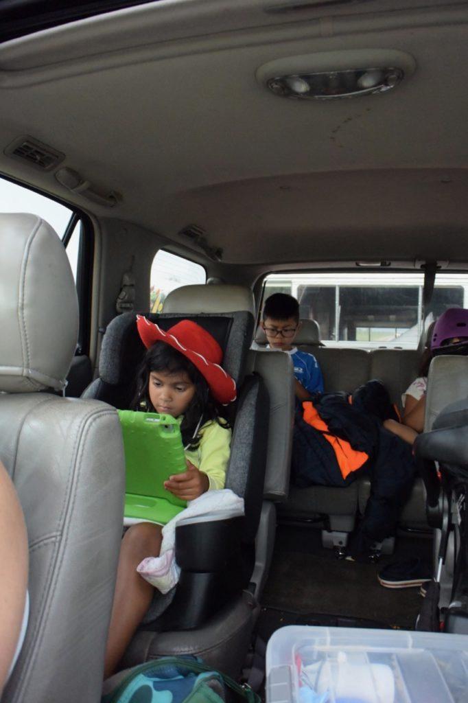family trip passengers