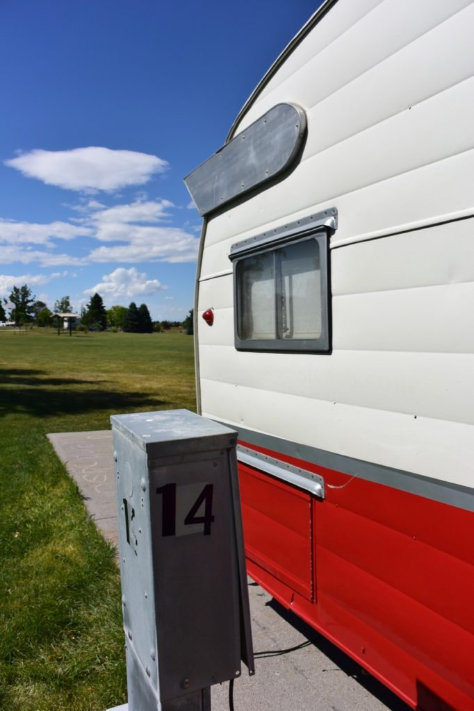 vintage camper at robidoux